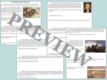 Revolutionary War Bundle for US History