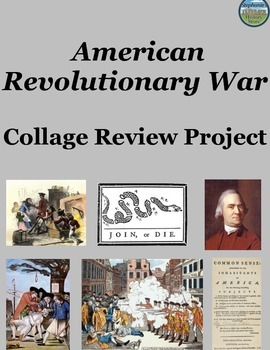 Revolutionary War Collage Project