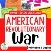 American Revolutionary War Complete Unit | Google Classroom | Distance Learning