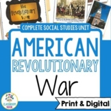 American Revolutionary War Complete Unit [Google Classroom
