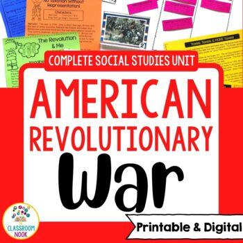 American Revolutionary War Complete Unit