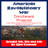 Revolutionary War Enrichment Projects Plus: Vocabulary Handout