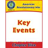 American Revolutionary War: Key Events Gr. 5-8