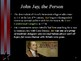 American Revolutionary War - Key Figures - John Jay