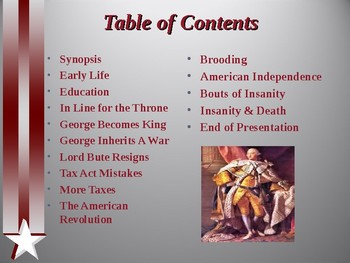 American Revolutionary War - Key Figures - King George III
