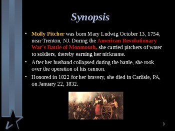 American Revolutionary War - Key Figures - Molly Pitcher