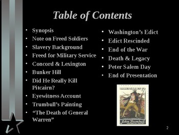American Revolutionary War - Key Figures - Peter Salem