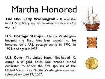 American Revolutionary War - Martha Washington PowerPoint