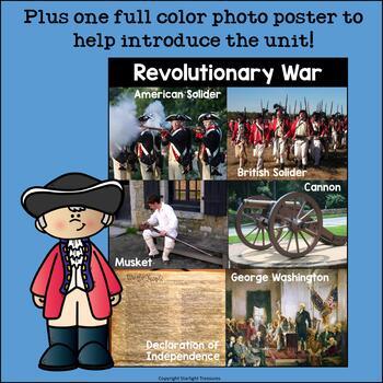 American Revolutionary War Mini Book for Early Readers - Revolutionary War