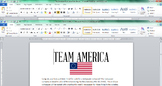 American Revolutionary War Newspaper - America Cover Sheet