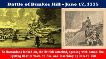 American Revolutionary War: Part I – Revolutionary Spirit, Lexington, Concord