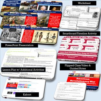 American Revolutionary War: Part II - 1776 - 1777