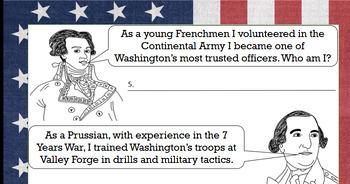 American Revolutionary War Part III - Valley Forge, European Allies, War at Sea