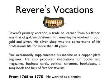 American Revolutionary War - Paul Revere PowerPoint