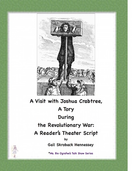 American Revolutionary War: Reader's Theater Script(A Visit with a Tory)