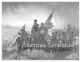 American Revolutionary War SCOOT / Task Cards (VS.5)