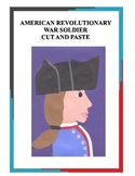 American Revolutionary War Soldier Cut and Paste  Art Project