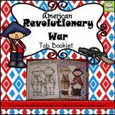 American Revolutionary War Tab Booklet