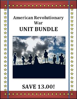 American Revolutionary War Unit Bundle