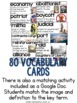 American Revolutionary War Vocabulary Cards, American Revolution Word Wall
