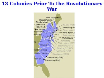 American Revolutionary War powerpoint and guided notes