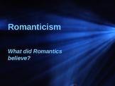 American Romanticism 62 Slide Powerpoint  1800-1840s