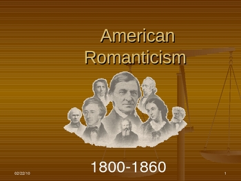American Romanticism Introduction