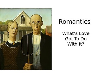 American Romanticism Powerpoint