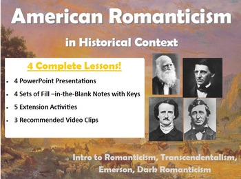 American Romanticism in Historical Context
