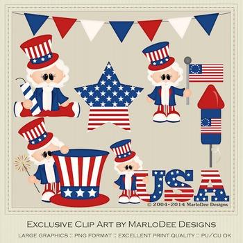 American Sam Clip Art Graphics