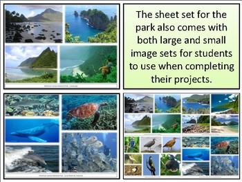 American Samoa National Park : Project Materials