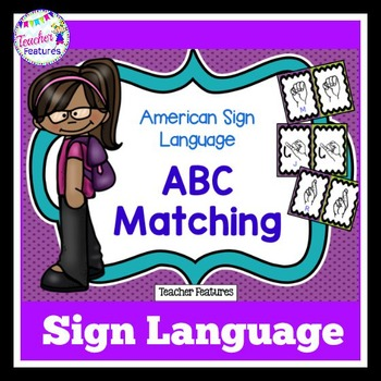 SIGN LANGUAGE Alphabet Matching