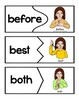 American Sign Language 2nd Grade Dolch Sight Word Puzzles
