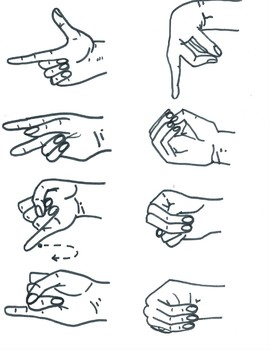 American Sign Language ABC Clip Art for Commerical and Personal Use