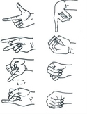American Sign Language ABC Clip Art for Commerical and Per