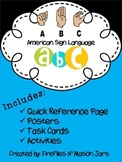 American Sign Language (ASL) Alphabet