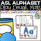 ASL American Sign Language Alphabet Playdough Mats