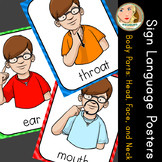 American Sign Language (ASL) - Signs of the Week (2 weeks) - Head, Face, Neck