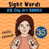 Dolch Words BUNDLE - American Sign Language ASL Set