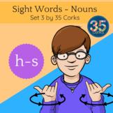 American Sign Language ASL Clip Art - Dolch Words Nouns SET 3