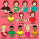 American Sign Language ASL Clip Art Set - Common Foods