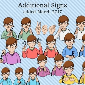 American Sign Language ASL Clip Art - Occupations / Jobs