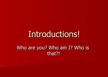 American Sign Language (ASL) Introductions Lesson
