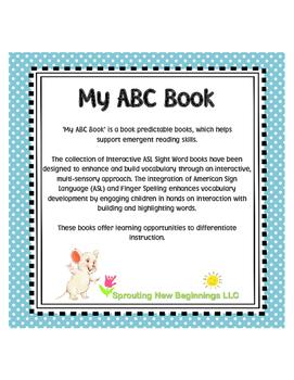 My ABC Book using American Sign Language (ASL)