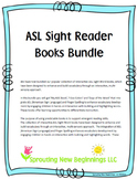 American Sign Language (ASL) ~Sight Reader Books Bundled