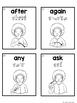 American Sign Language ASL Sight Word Flashcards & Tracker - First Grade