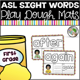 American Sign Language ASL Sight Word Playdough Mats - First Grade