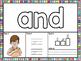 ASL American Sign Language Sight Word Playdough Mats (Pre-Primer)