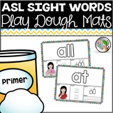 ASL American Sign Language Sight Word Playdough Mats - Primer