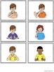American Sign Language ASL Sight Words Pocket Chart Center - Pre-Primer